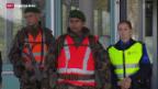 Video «Armee und Grenzwachtkorps proben den gemeinsamen Grenzschutz» abspielen