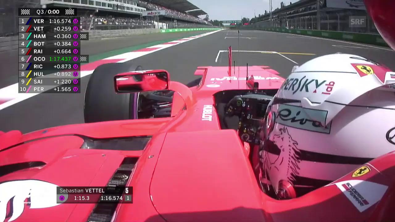 «Grazie ragazzi» - Vettel feiert die Pole