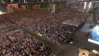 Video «Papst Besuch in Genf» abspielen