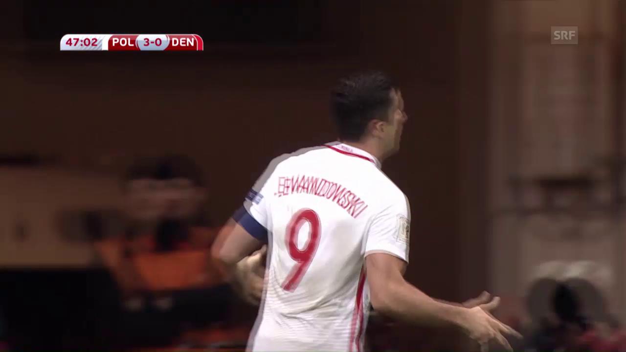 Lewandowski sorgt für polnischen Sieg