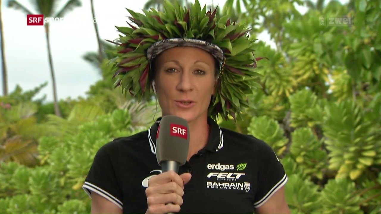 Ironman-Siegerin Daniela Ryf im Gespräch