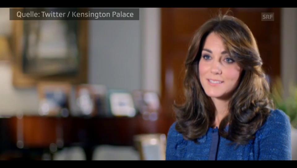 Herzogin Kate plaudert aus dem Nähkästchen