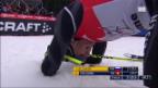 Video «Langlauf: Zieleinlauf Schlussetappe Tour de Ski («sportlive»)» abspielen