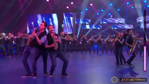 Video «Jugendmusik Kreuzlingen mit einem Classic-Rock-Medley» abspielen