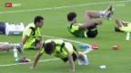 Video «Spanien will sich gegen Chile rehabilitieren» abspielen