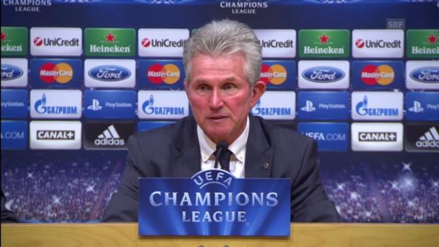Video «Interview mit Bayern-Trainer Jupp Heynckes» abspielen