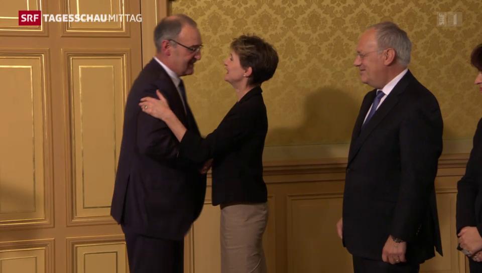 Guy Parmelin wird neuer Bundesrat