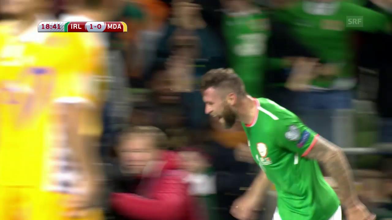 Irland schlägt Moldawien und wahrt WM-Chance