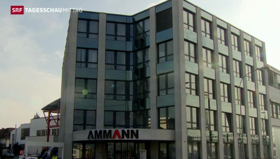 Steuerclinch bei Ammann-Gruppe