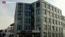Video «Steuerclinch bei Ammann-Gruppe» abspielen