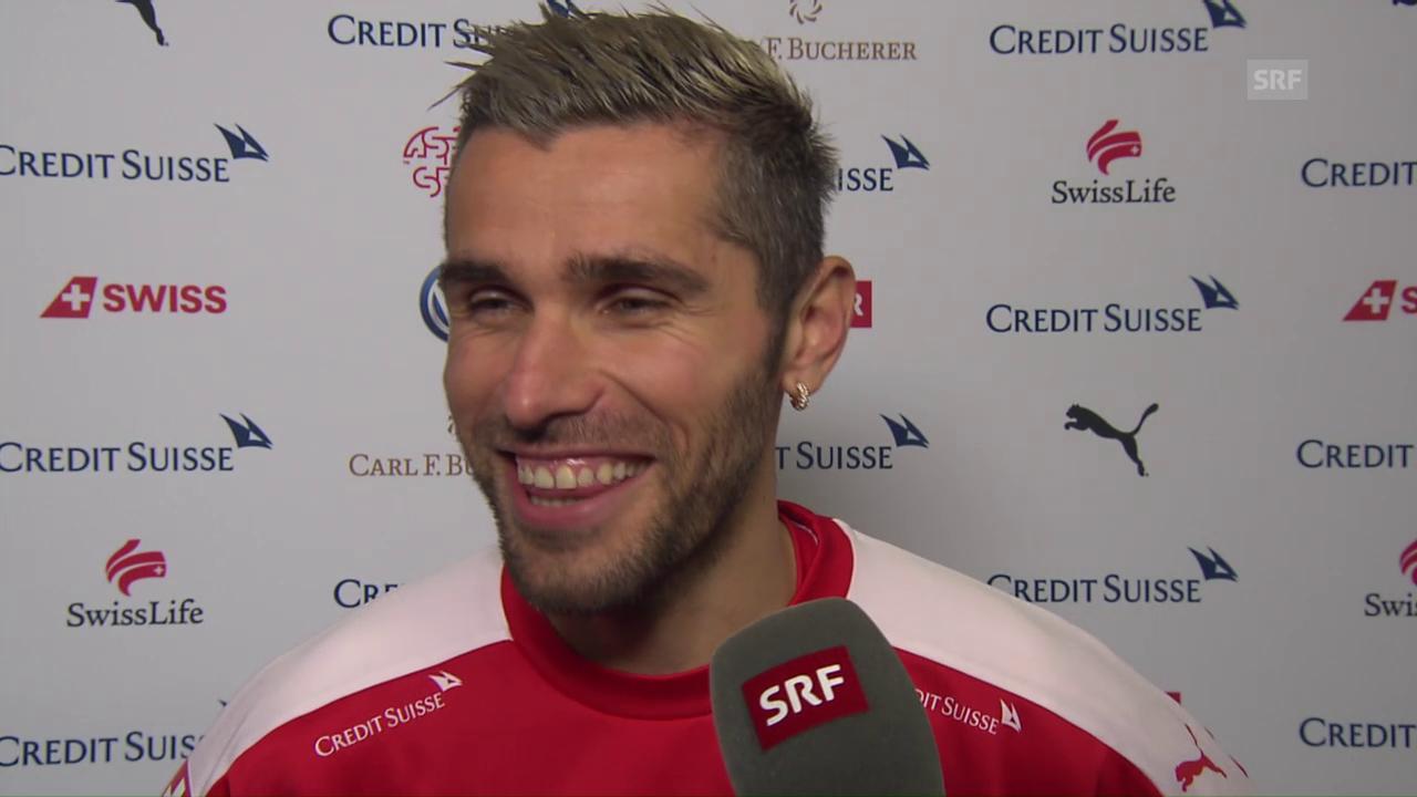 Behrami: «Spiele lieber gegen Portugal»