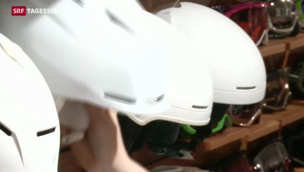 Video «Gefahr trotz Helmen» abspielen