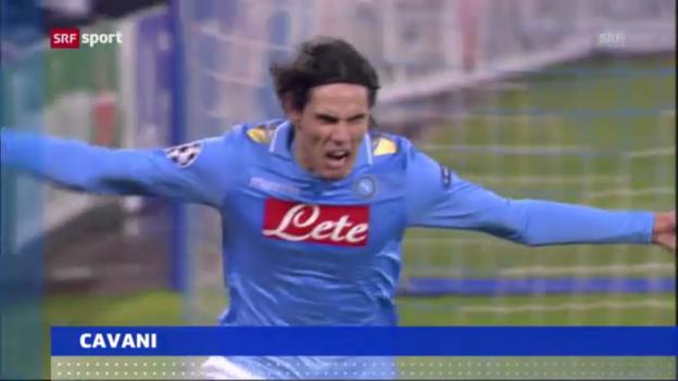 Video «Cavanis wechselt von Napoli zum PSG» abspielen