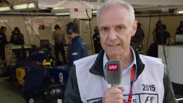 Video «Formel 1: SRF-Kommentator Michael Stäuble äussert sich zu 5 Fragen anlässlich der 2. Saisonhälfte» abspielen
