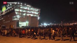 Video «Griechenland droht Schengen-Rauswurf» abspielen