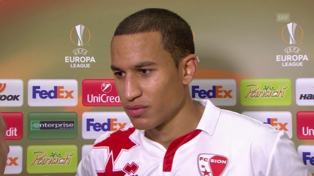 Video «Fussball: Europa League, Bordeaux-Sion, Interview Leo Lacroix» abspielen