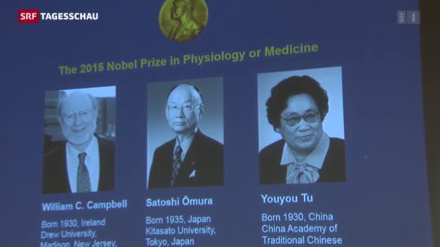 Video «Medizin für Arme gewinnt Nobelpreis» abspielen