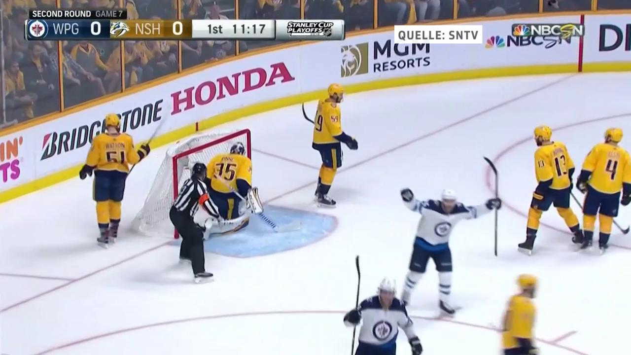 Nashville unterliegt Winnipeg im entscheidenden 7. Spiel