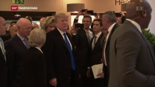 Video «Donald Trump in Davos» abspielen