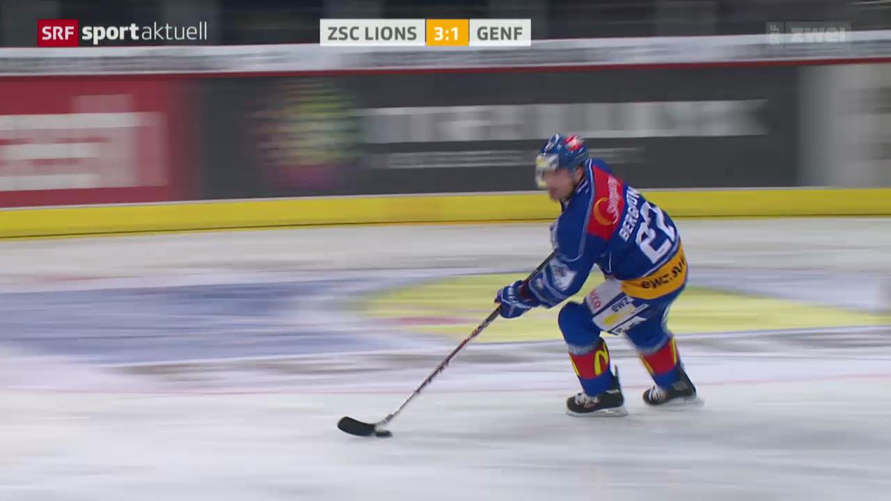 Eishockey: ZSC Lions - Genf