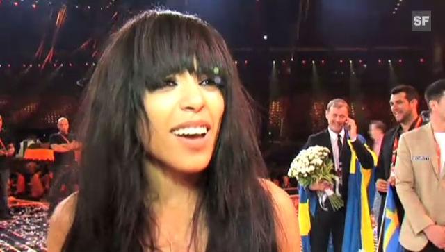 Loreen über ihren Sieg am Eurovision Song Contest