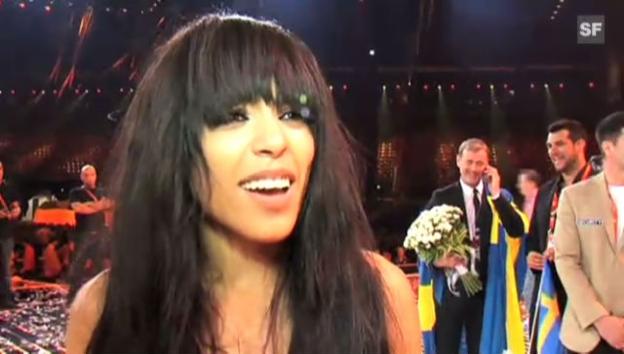 Video «Loreen über ihren Sieg am Eurovision Song Contest» abspielen