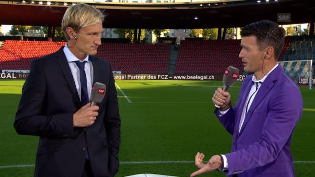 Video «Fussball: Super League, Interview Sami Hyypiä» abspielen