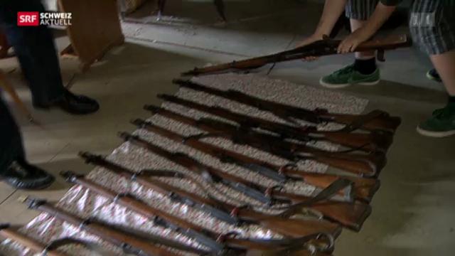 50 Gewehre für Lenzburger Kadetten