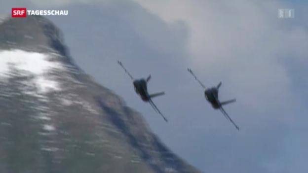 Video «Dicke Luft in der Schweizer Luftwaffe» abspielen