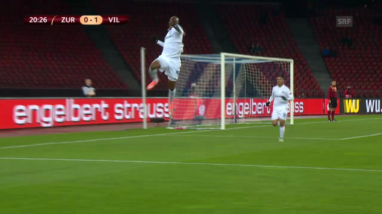 Fussball: Zusammenfassung: FCZ-Villarreal