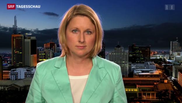 Video «Einschätzungen von ARD-Korrespondentin Gudrun Engel» abspielen