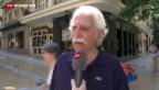 Video «Die Griechen schlucken die bittere Pille» abspielen