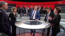 Video «Abstimmungs-Arena: Initiative «Energie- statt Mehrwertsteuer»» abspielen