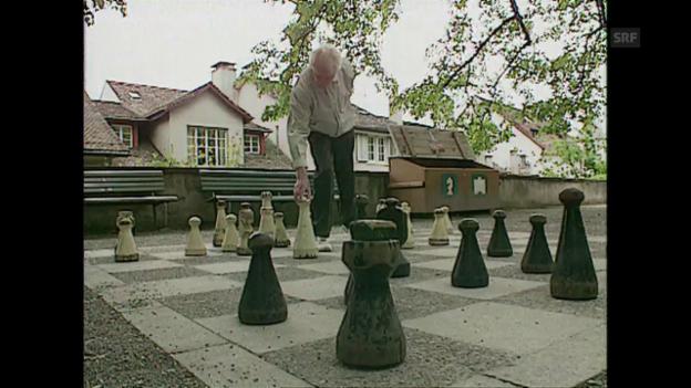 Video «Lindenhof-Schachspieler lässt Deep Blue kalt («Schweiz aktuell» vom 14.5.97)» abspielen