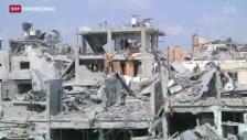 Video «Neue Waffenruhe im Gazastreifen» abspielen