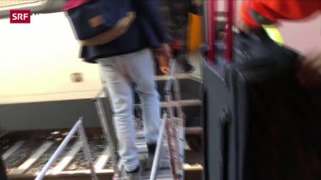 Link öffnet eine Lightbox. Video Im Intercity von Bern nach Zürich ging nichts mehr abspielen