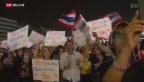 Video «Proteste in Thailand» abspielen