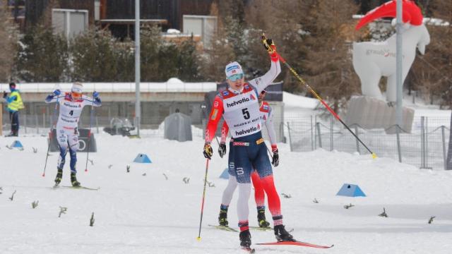 Victoria dubla norvegiaisa tar il 50er en Engiadin