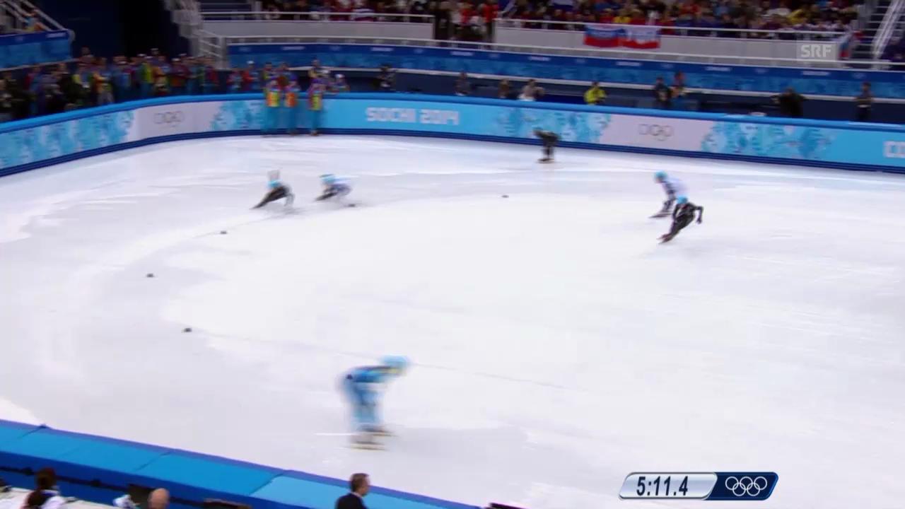 Sotschi: Short Track, Staffel, 5000 m Männer