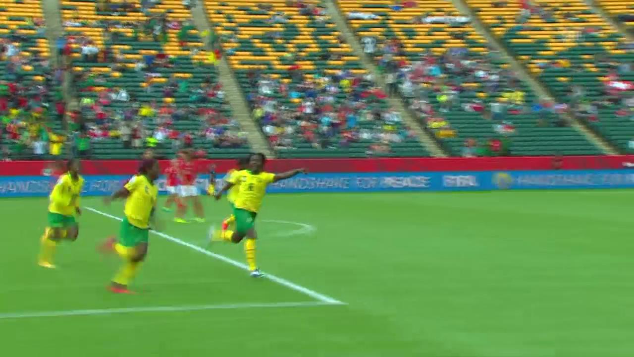 Fussball: Frauen WM in Kanada, Gruppe C, Schweiz - Kamerun