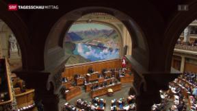 Video «Nationalrat stimmt für nationales Krebsregister» abspielen