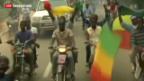 Video «Schneller Vormarsch gegen Islamisten in Mali» abspielen
