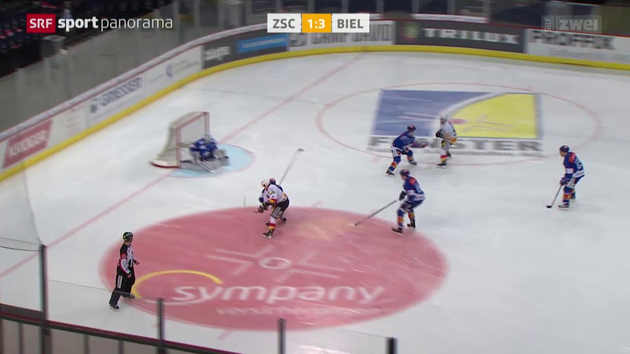 Eishockey: NLA, ZSC - Biel