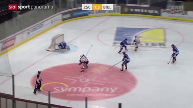 Video «Eishockey: NLA, ZSC - Biel» abspielen