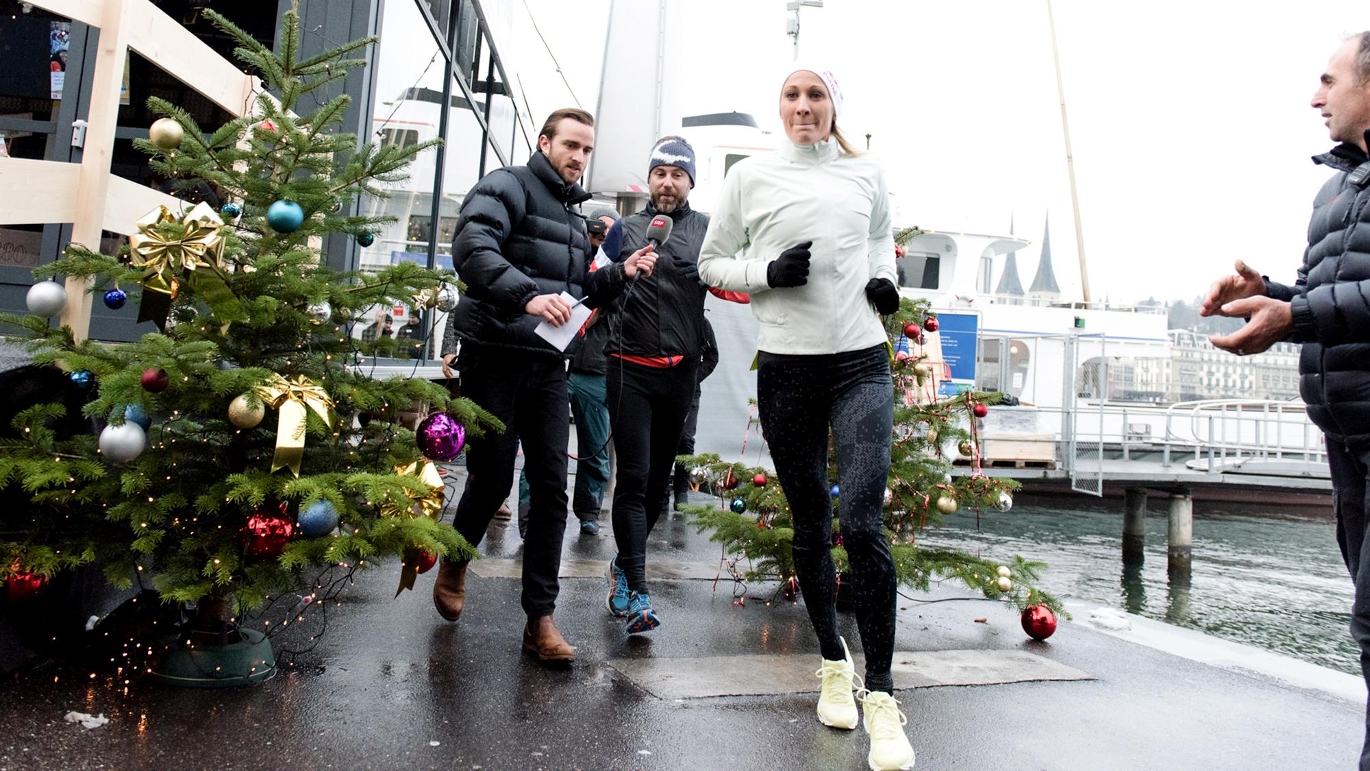 «Jeder Meter zählt»: Daniela Ryf erläuft 20'000 Franken