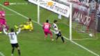 Video «Fussball: Super League, Aarau - Grasshoppers» abspielen