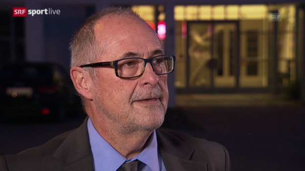 Video «Interview mit SFV-Präsident Peter Gilliéron» abspielen
