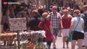 Video «Der Tourismus läuft in Griechenland» abspielen
