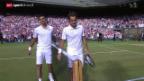 Video «Tennis: Vorschau auf den Final Federer-Djokovic» abspielen