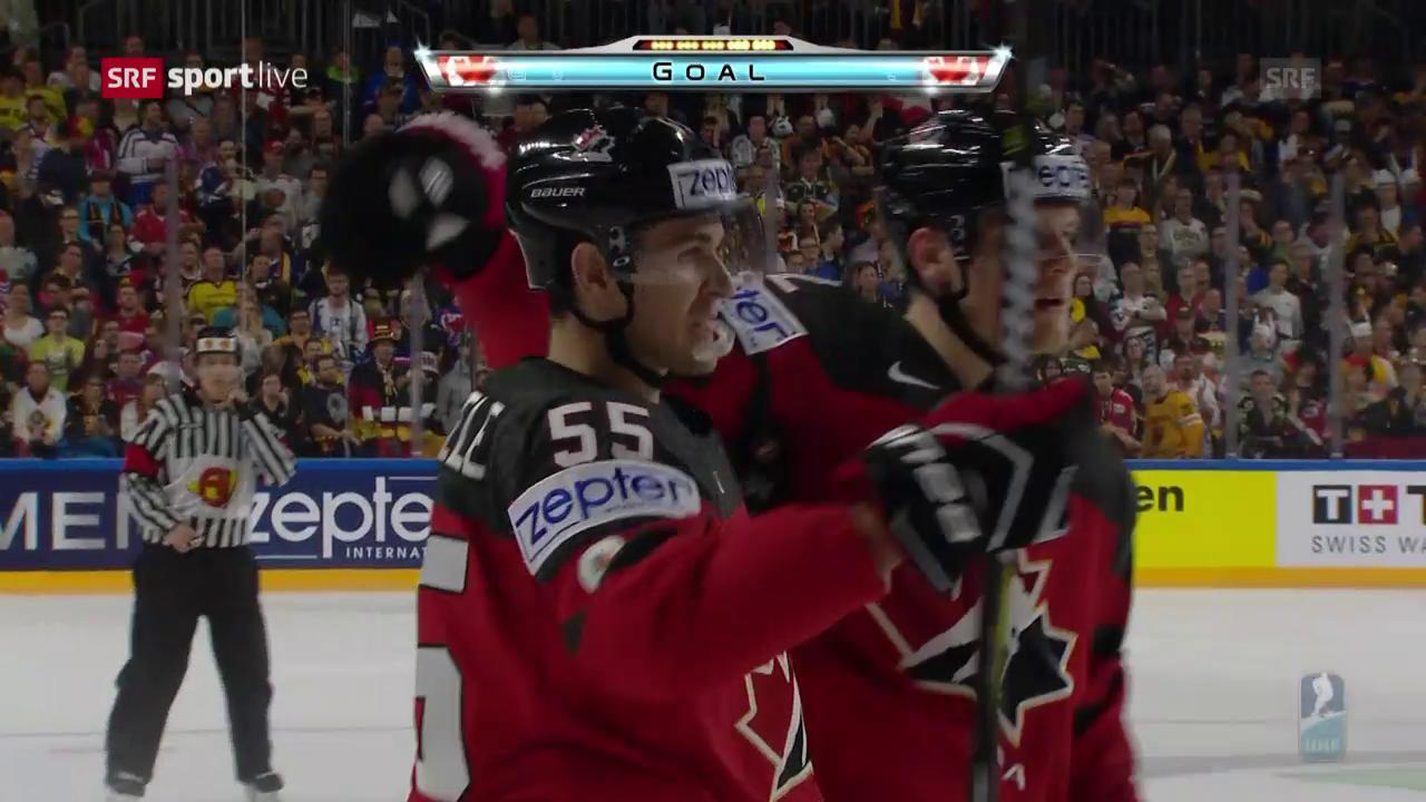 Kanada mit Mini-Sieg gegen Deutschland